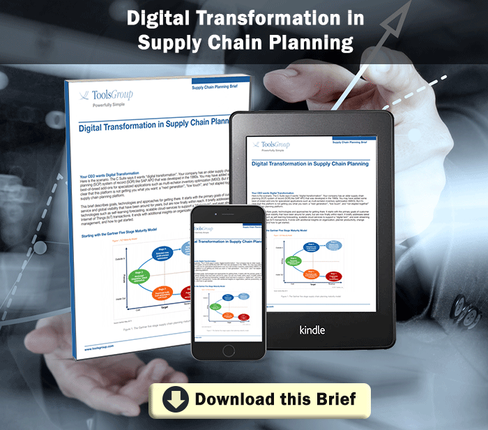 Digital Transformation in Supply Chain Planning