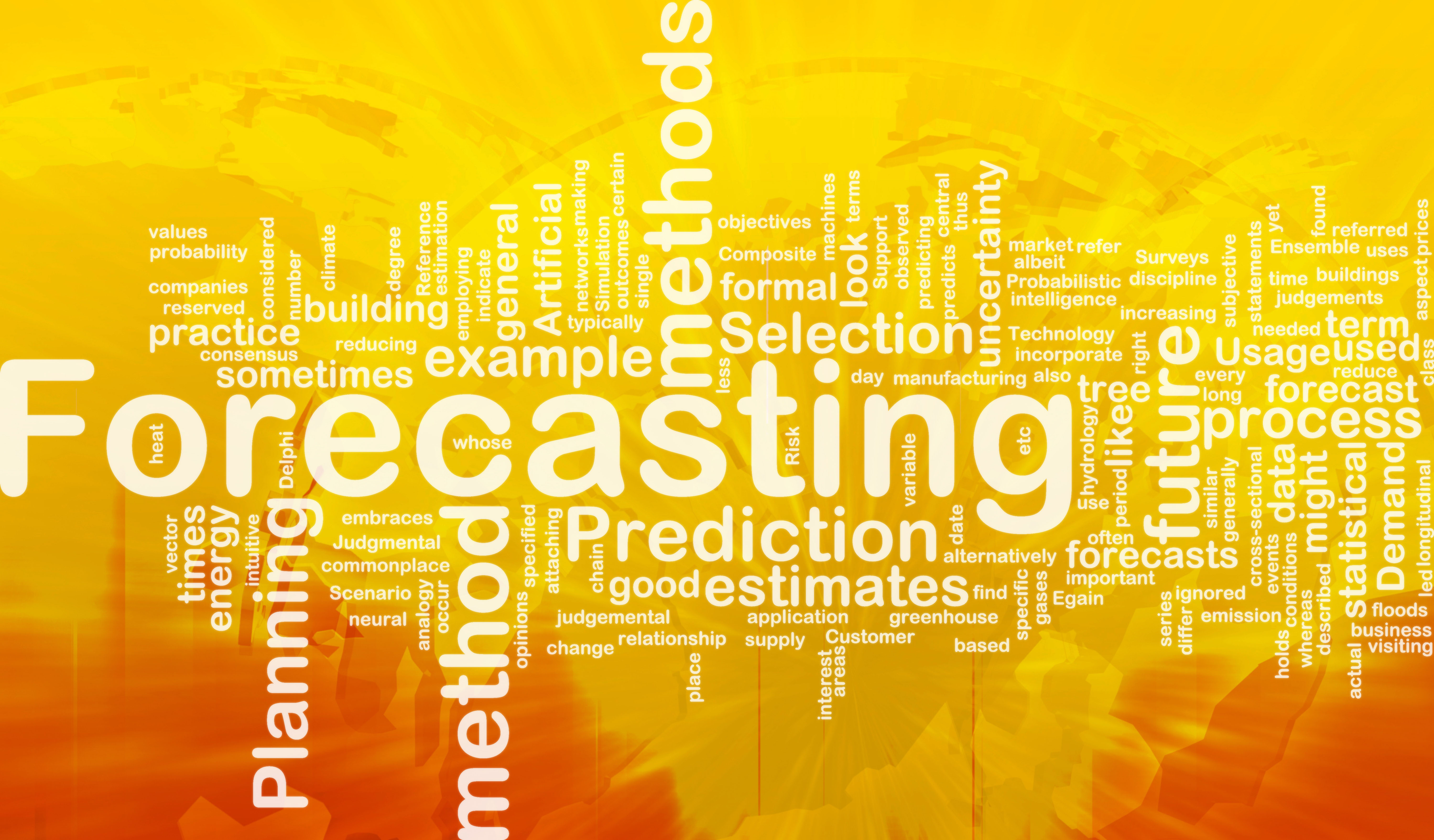 Forecasting Word Cloud